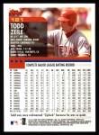 2000 Topps #121  Todd Zeile  Back Thumbnail