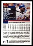 2000 Topps #309  Rondell White  Back Thumbnail