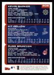 2000 Topps #208   -  Kit Pellow / Kenny Barker / Russ Branyan Draft Picks Back Thumbnail