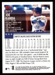 2000 Topps #317  Joe Randa  Back Thumbnail