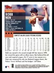 2000 Topps #385  Robb Nen  Back Thumbnail