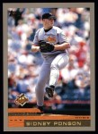 2000 Topps #424  Sidney Ponson  Front Thumbnail