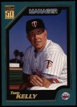2001 Topps #335  Tom Kelly  Front Thumbnail