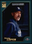 2001 Topps #342  Davey Lopes  Front Thumbnail