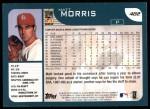 2001 Topps #482  Matt Morris  Back Thumbnail