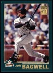 2001 Topps #407  Jeff Bagwell  Front Thumbnail