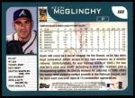 2001 Topps #88  Kevin McGlinchy  Back Thumbnail