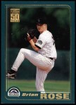 2001 Topps #649  Brian Rose  Front Thumbnail