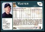 2001 Topps #107  Kirk Rueter  Back Thumbnail