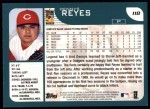 2001 Topps #118  Dennys Reyes  Back Thumbnail