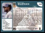 2001 Topps #704  Cristian Guzman  Back Thumbnail