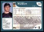 2001 Topps #462  Glendon Rusch  Back Thumbnail