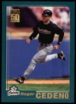 2001 Topps #3  Roger Cedeno  Front Thumbnail