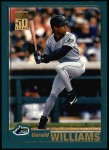 2001 Topps #52  Gerald Williams  Front Thumbnail