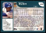 2001 Topps #209  Homer Bush  Back Thumbnail
