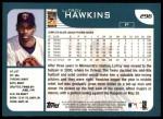 2001 Topps #296  LaTroy Hawkins  Back Thumbnail