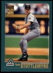 2001 Topps #21  Todd Stottlemyre  Front Thumbnail