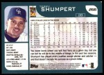 2001 Topps #266  Terry Shumpert  Back Thumbnail