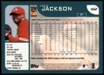 2001 Topps #182  Mike Jackson  Back Thumbnail