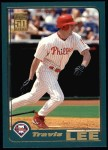 2001 Topps #124  Travis Lee  Front Thumbnail