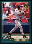 2001 Topps #193  B.J. Surhoff  Front Thumbnail