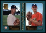 2001 Topps #355  Phil Dumatrait / Adam Wainwright  Front Thumbnail