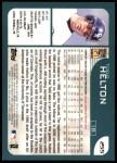 2001 Topps #255  Todd Helton  Back Thumbnail