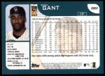 2001 Topps #661  Ron Gant  Back Thumbnail