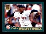 2001 Topps #60  Pedro Martinez  Front Thumbnail