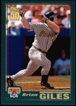2001 Topps #473  Brian Giles  Front Thumbnail