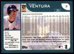2001 Topps #5  Robin Ventura  Back Thumbnail