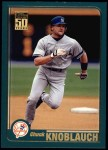 2001 Topps #154  Chuck Knoblauch  Front Thumbnail