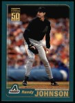 2001 Topps #75  Randy Johnson  Front Thumbnail