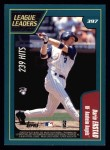 2001 Topps #397   -  Todd Helton / Derin Erstad League Leaders Back Thumbnail