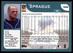 2001 Topps #566  Ed Sprague  Back Thumbnail