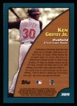 2001 Topps #389   -  Ken Griffey Jr. Season Highlights Back Thumbnail