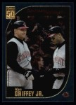 2001 Topps #389   -  Ken Griffey Jr. Season Highlights Front Thumbnail