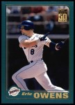 2001 Topps #116  Eric Owens  Front Thumbnail