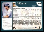 2001 Topps #137  Herb Perry  Back Thumbnail