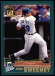 2001 Topps #95  Mike Sweeney  Front Thumbnail