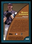2001 Topps #388   -  Randy Johnson Season Highlights Back Thumbnail