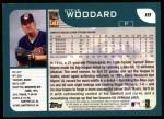 2001 Topps #18  Steve Woodard  Back Thumbnail