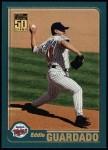 2001 Topps #313  Eddie Guardado  Front Thumbnail