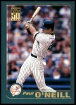 2001 Topps #30  Paul O'Neill  Front Thumbnail