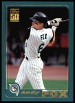 2001 Topps #542  Andy Fox  Front Thumbnail