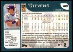 2001 Topps #108  Lee Stevens  Back Thumbnail