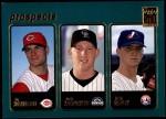 2001 Topps #365  Ty Howington / Josh Kalinowski / Josh Girdley  Front Thumbnail