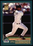 2001 Topps #31  Jeffrey Hammonds  Front Thumbnail