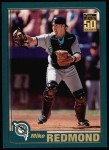 2001 Topps #14  Mike Redmond  Front Thumbnail