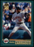 2001 Topps #222  Hector Carrasco  Front Thumbnail